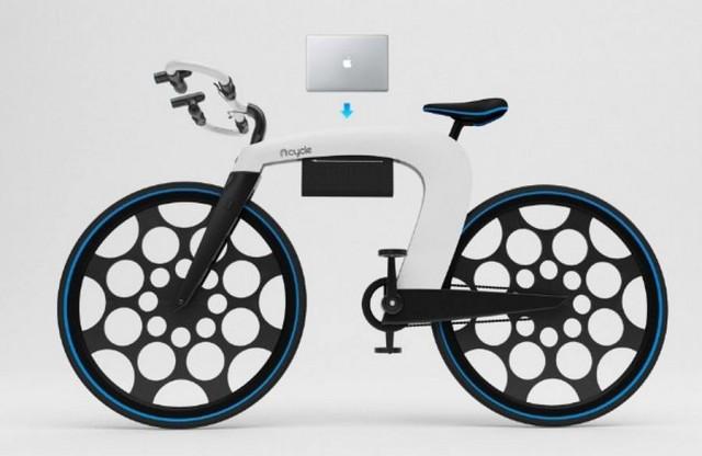 nCycle-Folding-E-Bike